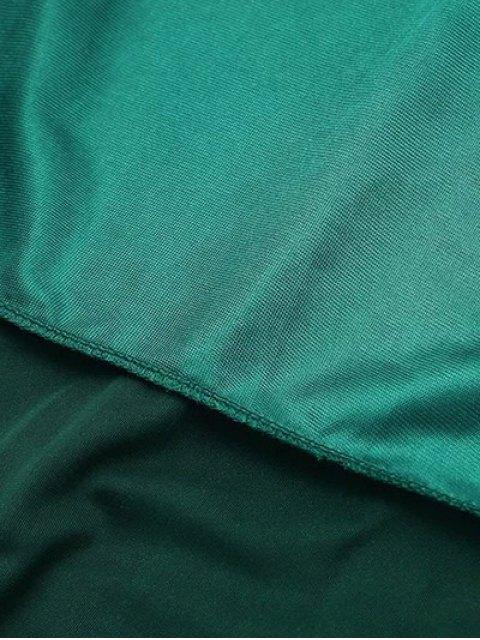 online Cami Velvet Midi Dress - BLUE GRAY M Mobile