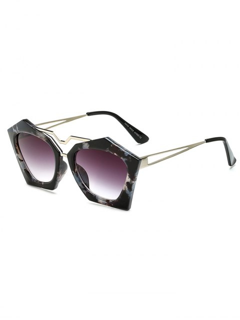 sale Flecky Irregular Frame Sunglasses -   Mobile