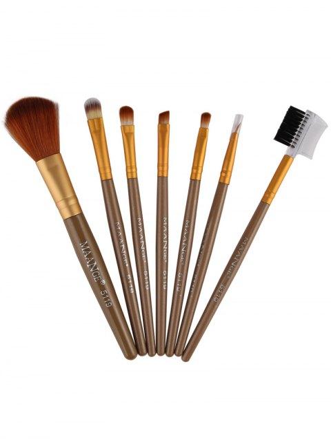 affordable 7 Pcs Makeup Brushes Set -   Mobile
