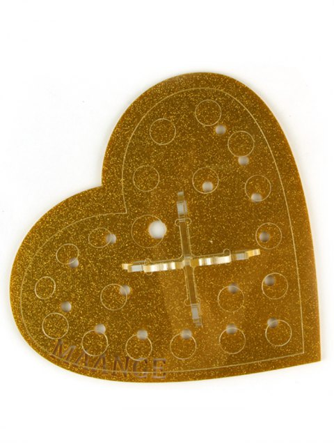 lady Heart Shape Brush Stand -   Mobile