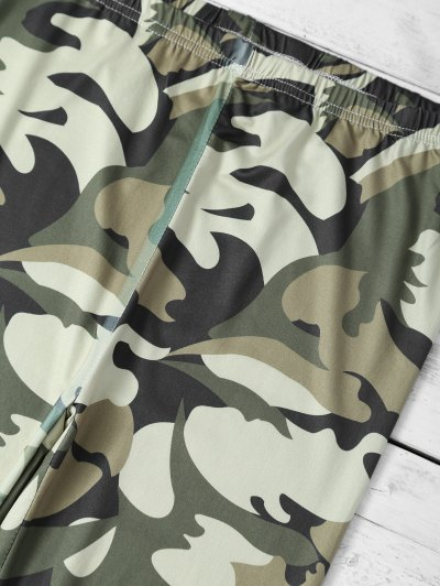 Camouflage Skinny Leggings - CAMOUFLAGE COLOR XL Mobile