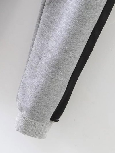 Jogger Drawstring Pants - GRAY M Mobile