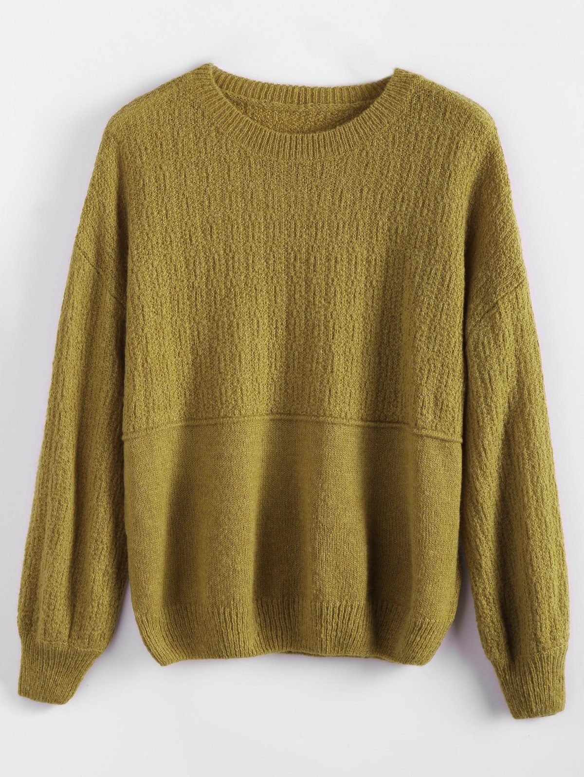 Dropped Shoulder Basic Sweater