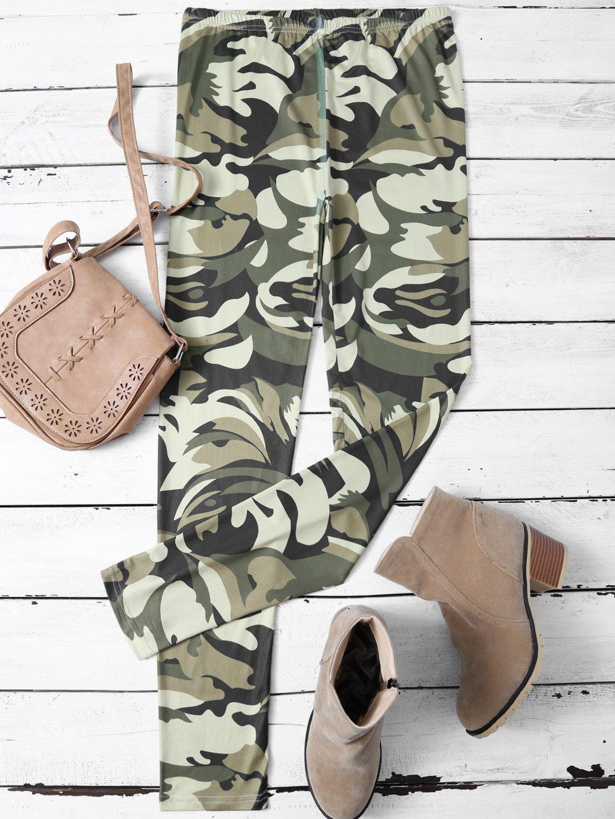 Skinny Camouflage Leggings