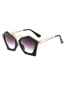Hollow Out Leg Irregular Sunglasses