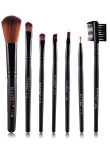 Pinceles De Maquillaje De Fibras Prescritos - Negro