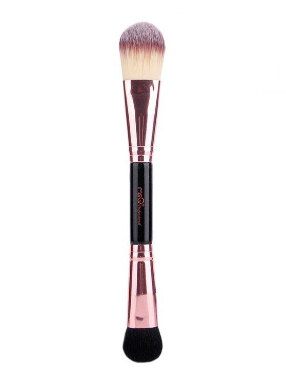 Double End Eyeshadow Brush Foundation Brush - ROSE GOLD  Mobile