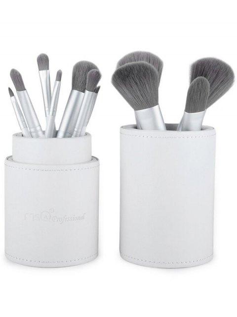 online Makeup Brushes Kit + Makeup Sponge + Brush Egg - WHITE  Mobile