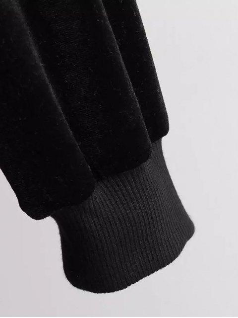 shop Pleuche Longline Coat - CAMEL ONE SIZE Mobile