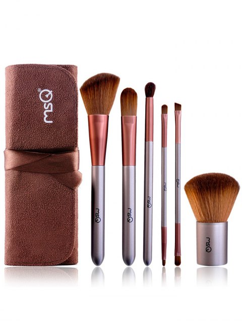 shop Makeup Brushes Kit and Brush Egg - COFFEE  Mobile