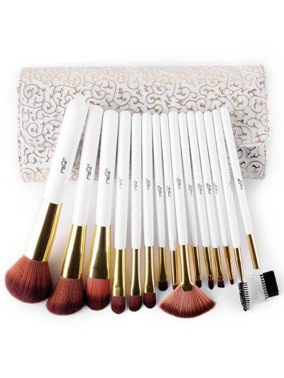 Makeup Brushes Kit + Pressed Powder Kit + Beauty Blender + Brush Egg - COLORMIX  Mobile
