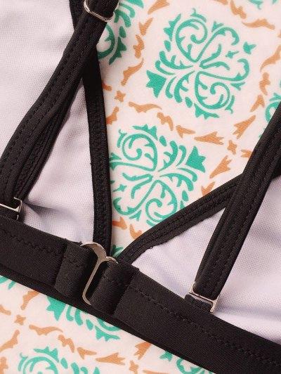 Tiny Unlined String Bikini Set - BLACK S Mobile