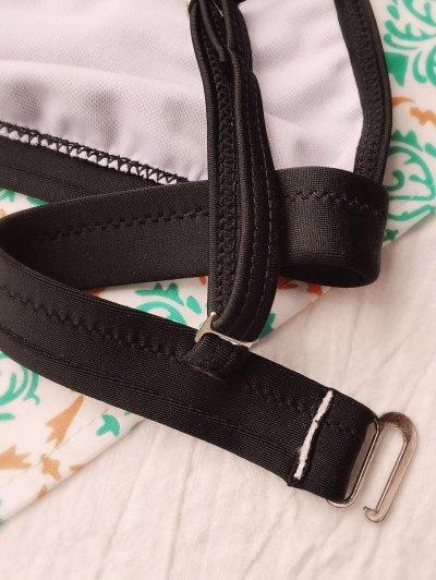 Tiny Unlined String Bikini Set - BLACK L Mobile