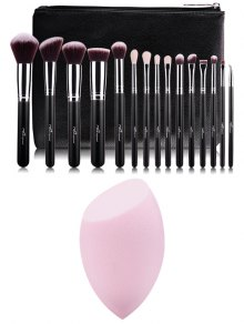 Makeup Brushes Kit And Makeup Sponge