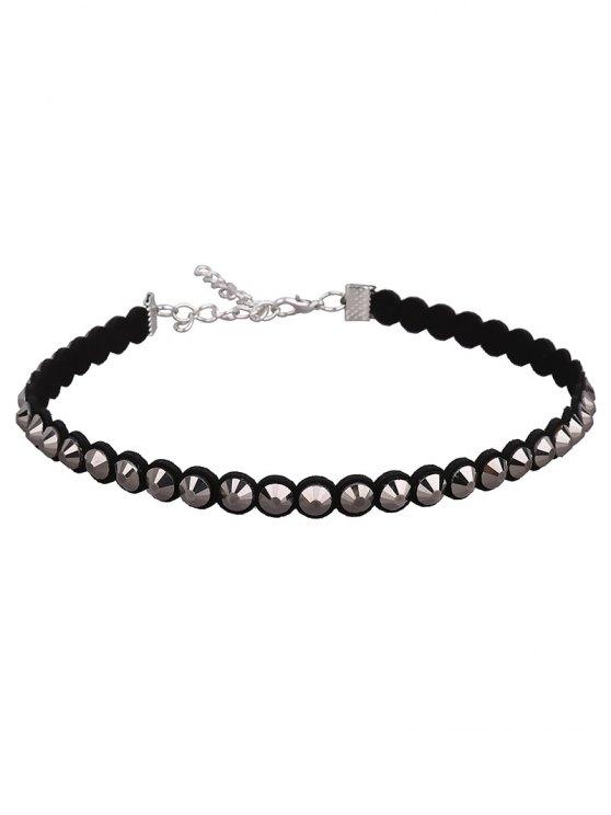 Artificial Leather Velvet Vintage Choker Necklace -   Mobile