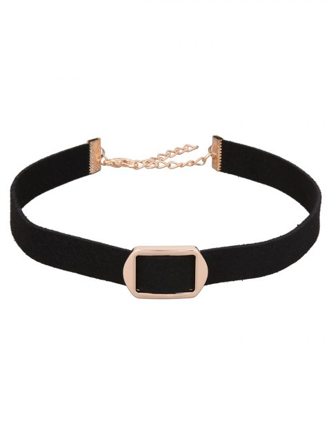 outfits Artificial Leather Velvet Vintage Choker -   Mobile
