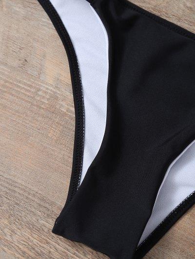 Halter Padded Bikini - BLACK S Mobile