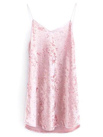Cami Velvet Slip Dress