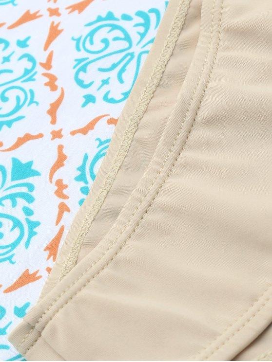 Unlined Cami Bikini - KHAKI L Mobile