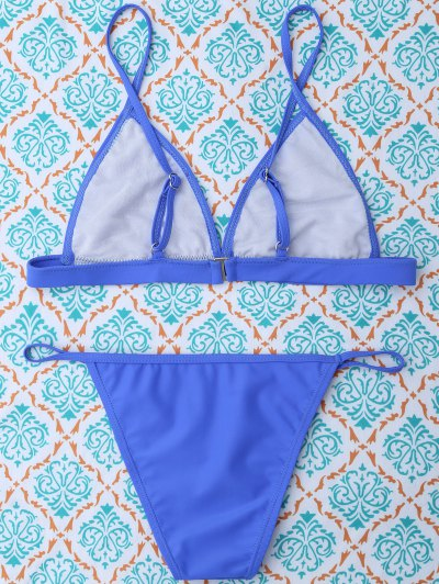 Unlined Cami Bikini - BLUE M Mobile