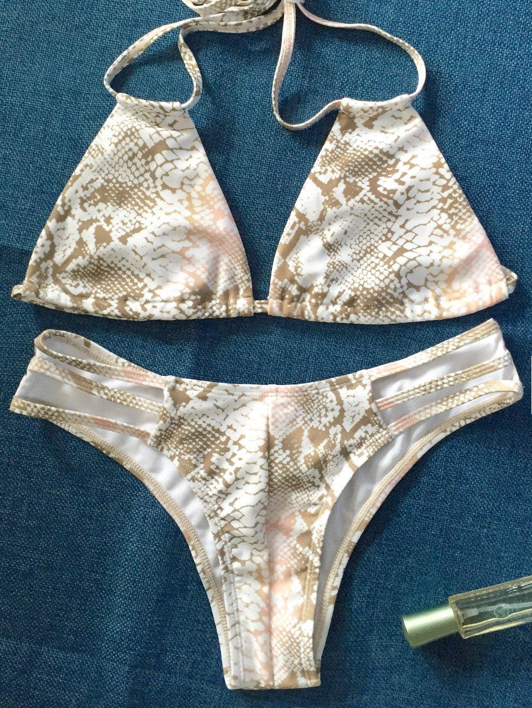 Python Print Plunge Bikini