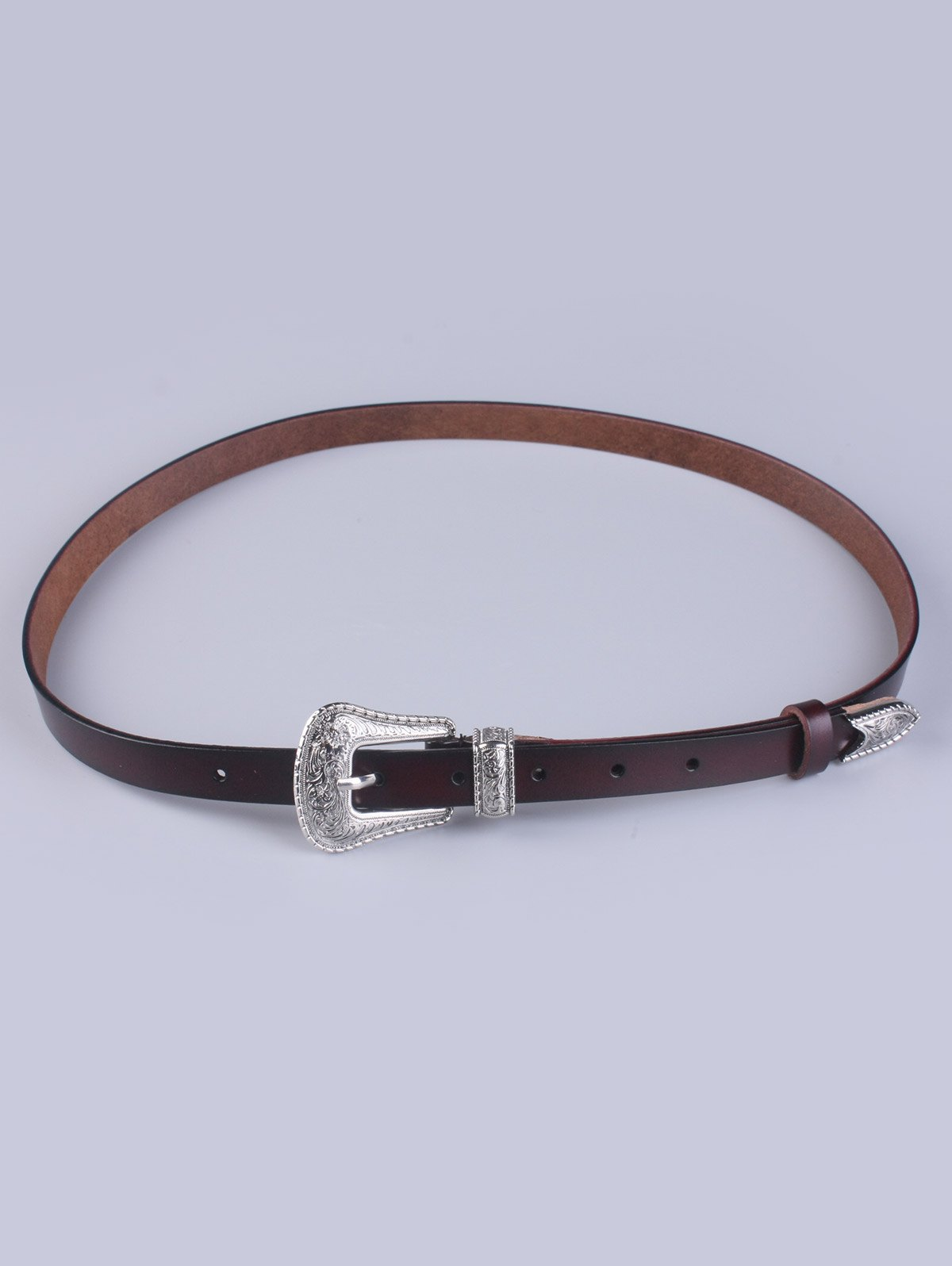 Vintage Pin Buckle Faux Leather Waist Belt