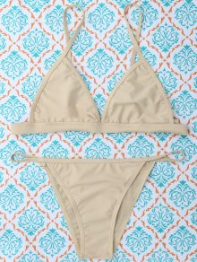 Unlined Cami Bikini