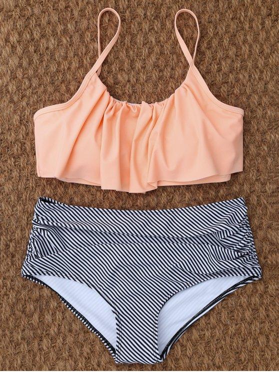 sale High Rise Flounce Bikini - COLORMIX S