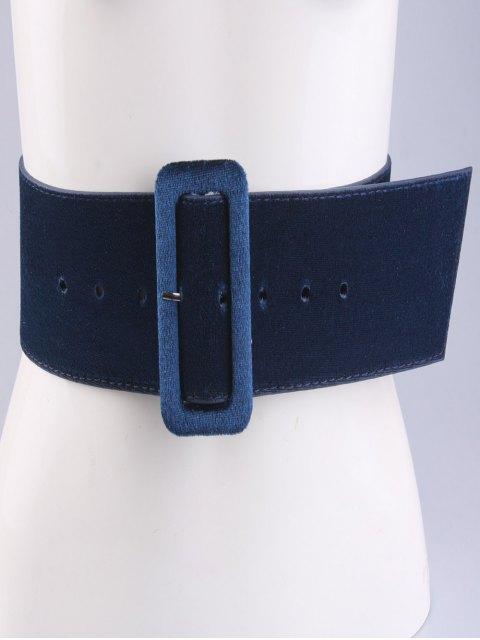 sale Velvet Waist Belt - CADETBLUE  Mobile