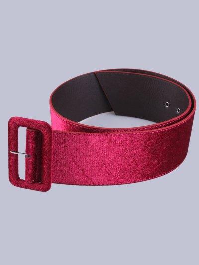 Velvet Waist Belt - TUTTI FRUTTI  Mobile