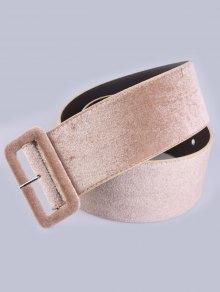 Velvet Waist Belt