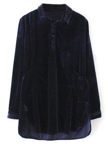 Mini Velvet Tunic Dress