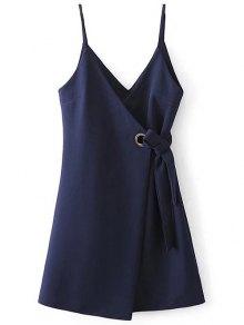 Self Tie Wrap Cami Dress