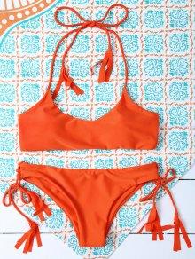 Bikinis bandeau armée vert