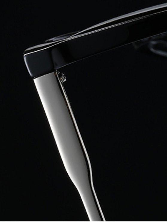 Street Wear Cat Eye Sunglasses - BLACK  Mobile