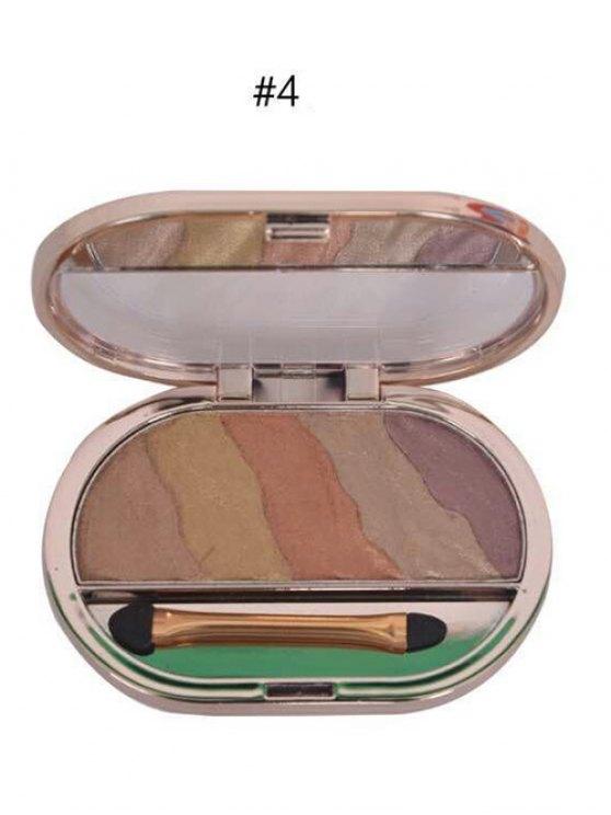 Baked Eyeshadow Kit - #04  Mobile