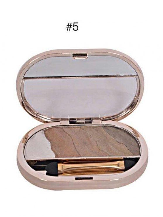 Baked Eyeshadow Kit - #05  Mobile