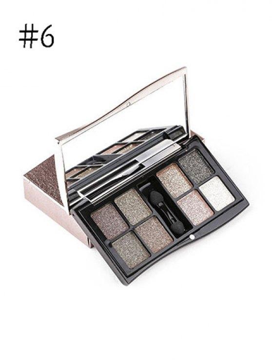 8 Colours Diamond Eyeshadow Kit - #06  Mobile