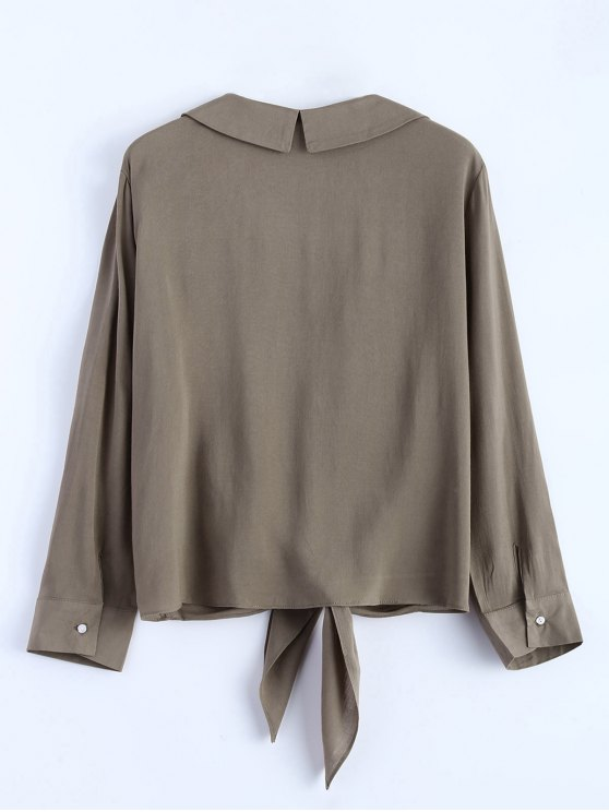 Loose Tied Blouse - GRIEGE S Mobile