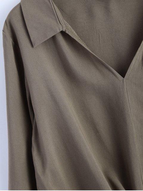 fancy Loose Tied Blouse - GRIEGE XL Mobile