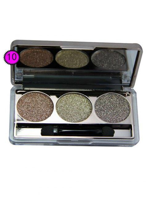 online Diamond Eyeshadow Kit - # 10  Mobile