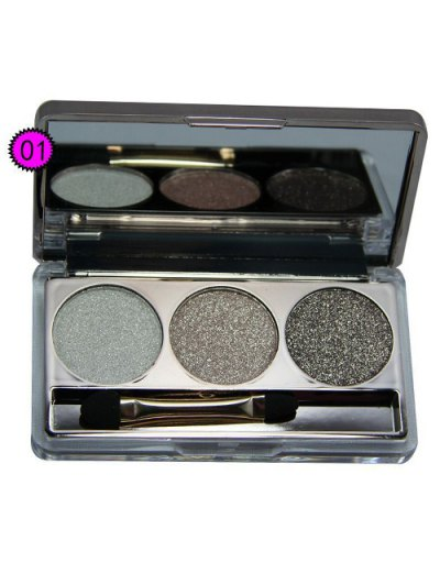 Diamond Eyeshadow Kit - #01  Mobile