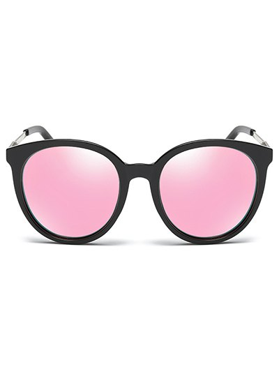 Mirrored Cat Eye Sunglasses - PINK  Mobile