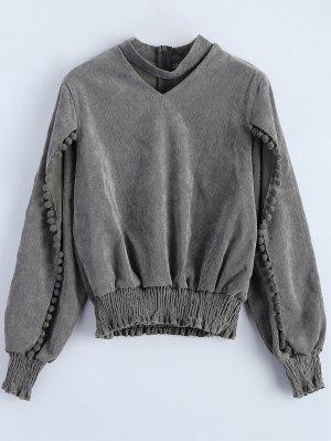 Oversized Choker Sweatshirt