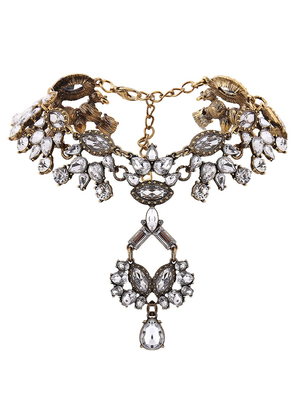 Hollow Out Statement Necklace