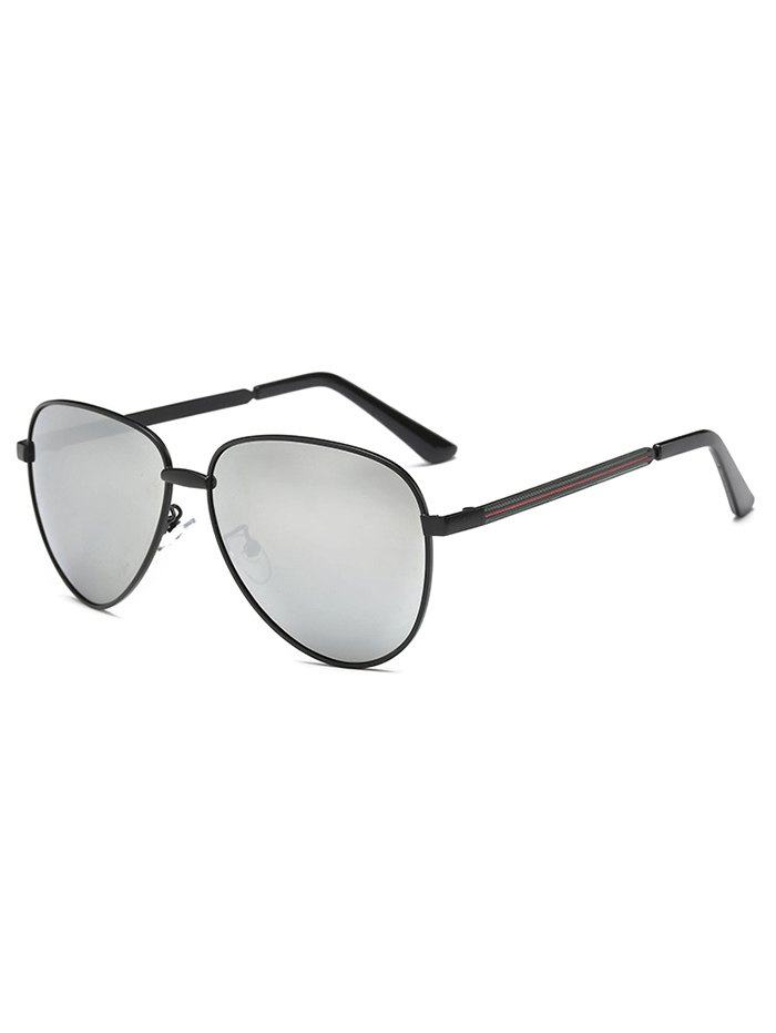 Metal Cool Mirrored Pilot Sunglasses