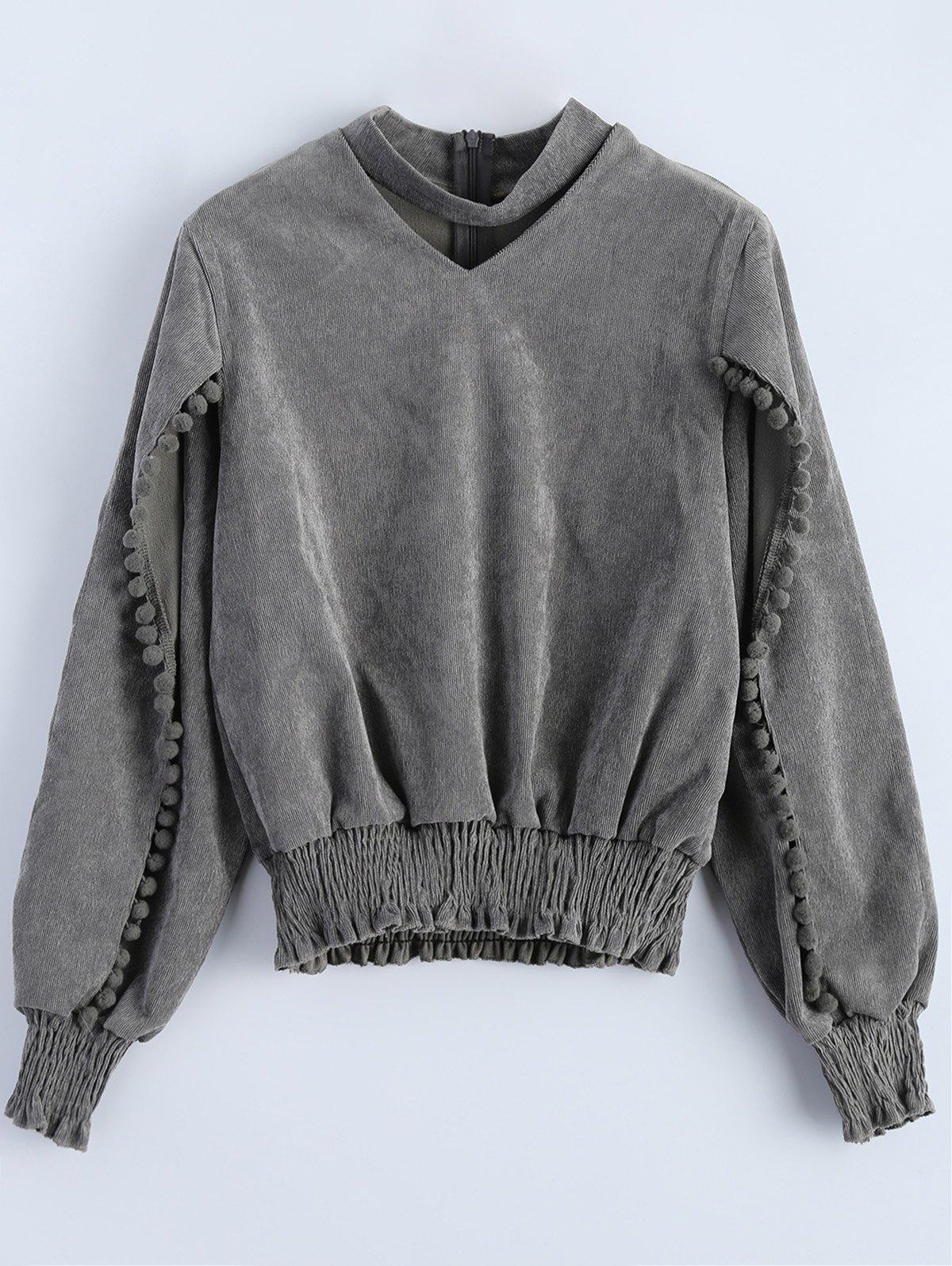 Choker Oversized Sweatshirt