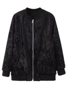Velvet Pilot Jacket