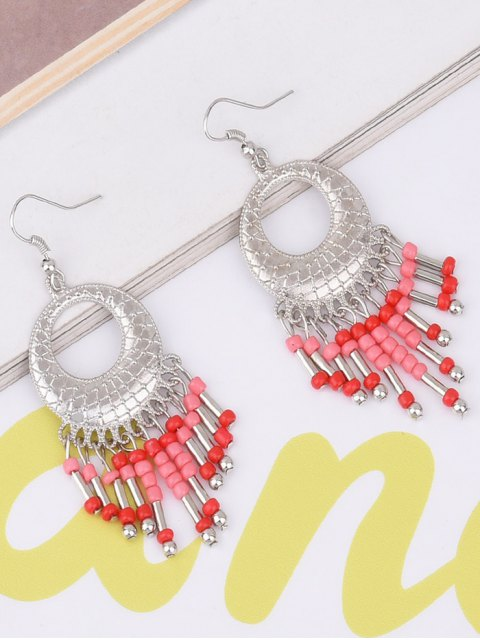 outfits Hollow Out Beads Hook Earrings -   Mobile