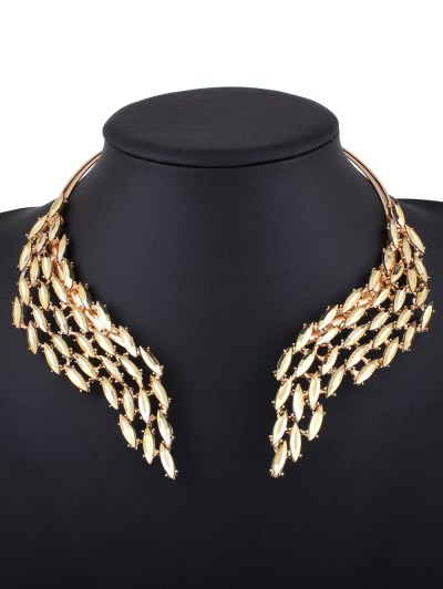 Wings Collar Torque - GOLDEN  Mobile